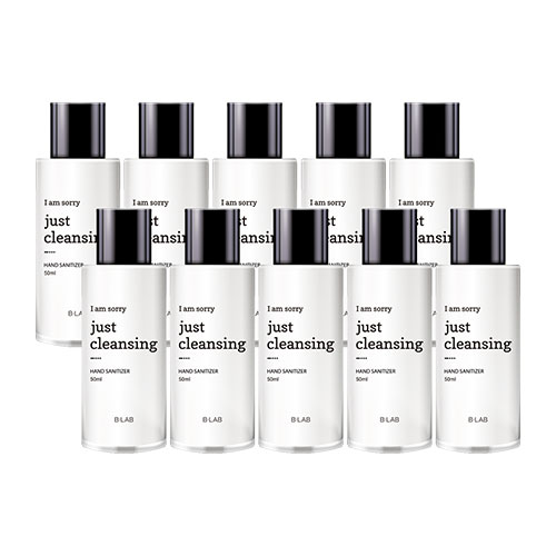 [TIME DEAL] B-LAB I Am Sorry Just Cleansing Hand Sanitizer 50ml * 10ea