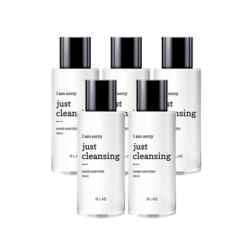 B-LAB I Am Sorry Just Cleansing Hand Sanitizer 50ml * 5ea
