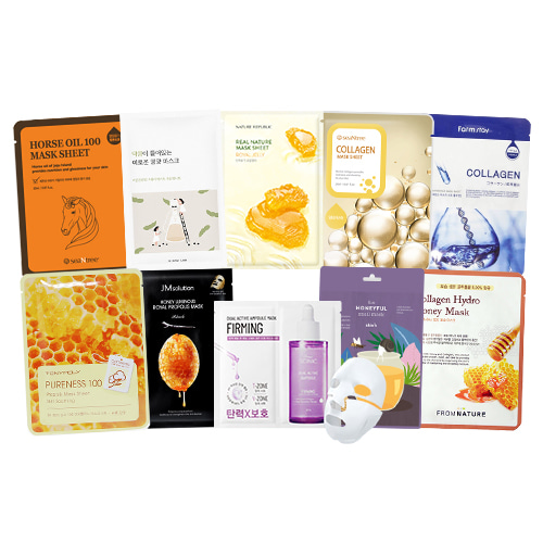 Mask Sheet Trial Kit (Nourishing)