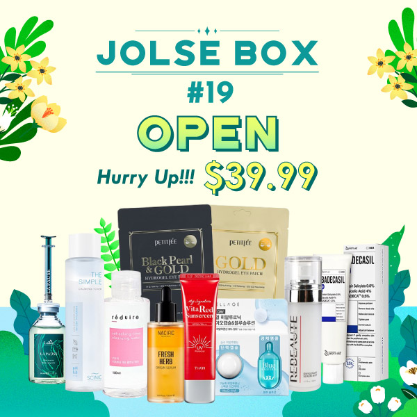 JOLSE BOX #19 SOLD OUT