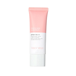 VELY VELY Peach Suncream SPF50+ PA++++ 50ml