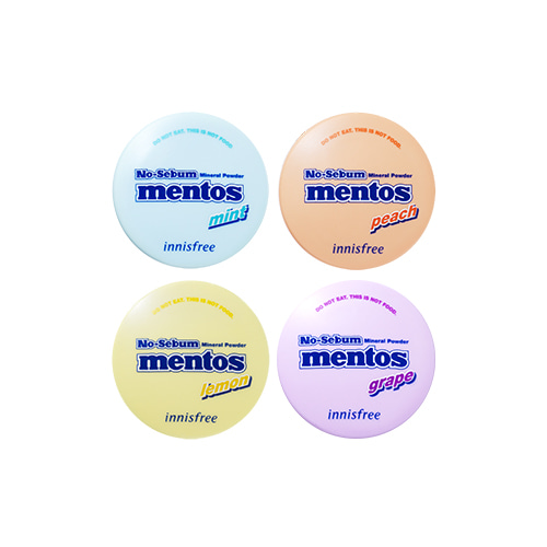 innisfree No Sebum Mineral Powder Mentos Edition 5g