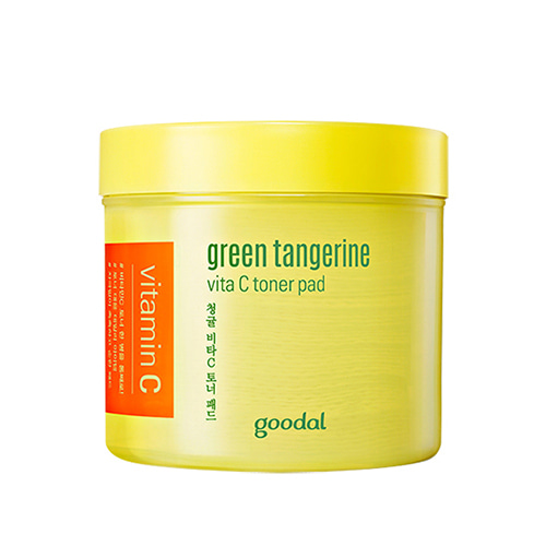 [TIME DEAL] goodal Green Tangerine Vita C Toner Pad 70ea