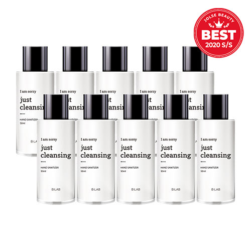 B-LAB I Am Sorry Just Cleansing Hand Sanitizer 50ml * 10ea