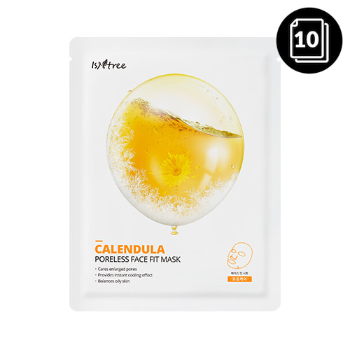Isntree Calendula Poreless Face Fit Mask 23g * 10ea
