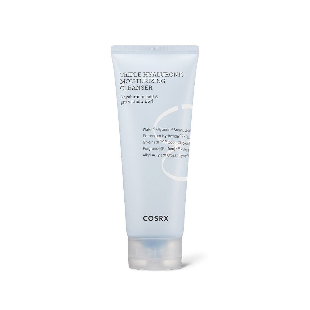 COSRX Hydrium Triple Hyaluronic Moisturizing Cleanser 150ml