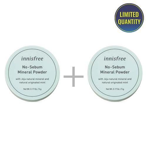 [1+1] innisfree No Sebum Mineral Powder 5g