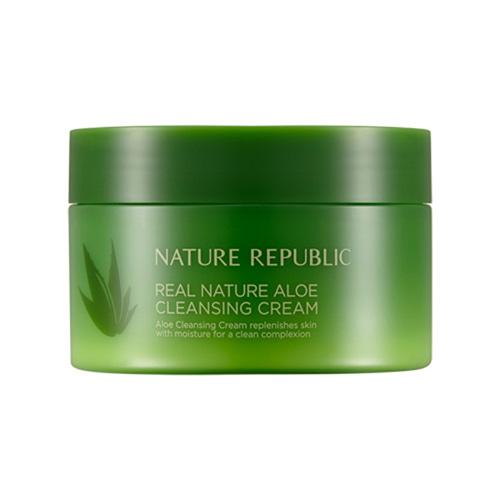Nature Republic Real Nature Aloe Cleansing Cream 200ml
