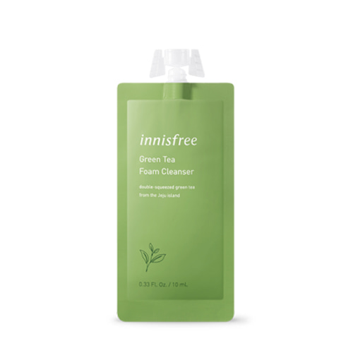 innisfree Green Tea Foam Cleanser (7days) 10ml