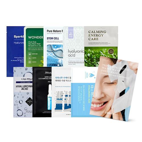 Mask Sheet Trial Kit (Moist)