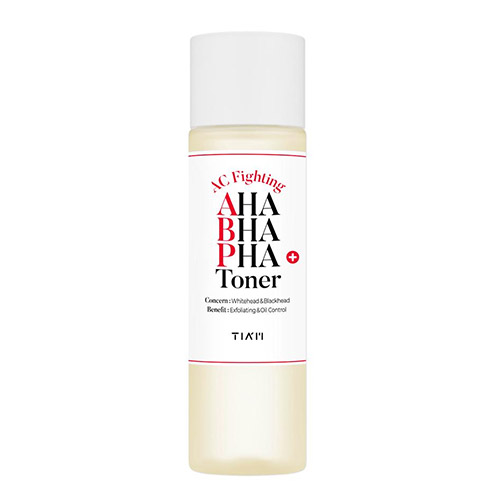 TIAM AC Fighting AHA BHA PHA Toner 180ml
