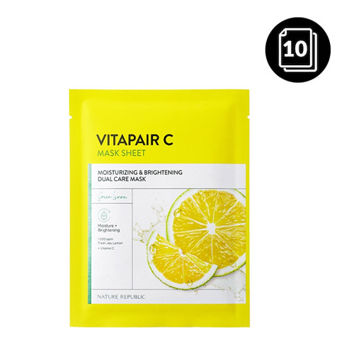 Nature Republic Vitapair C Mask Sheet 10ea