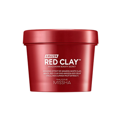 MISSHA Amazon Red Clay™ Pore Mask 110ml