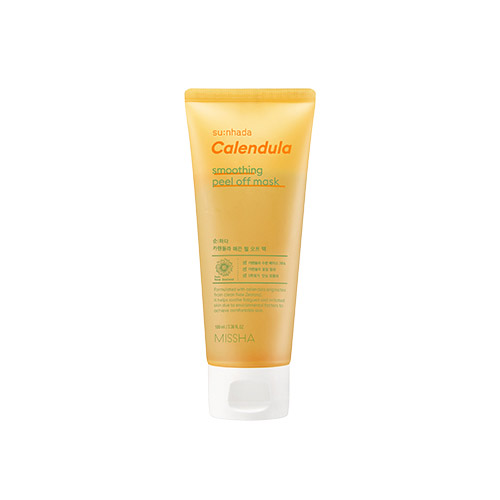 MISSHA Su:nhada Calendula pH 5.5 Soothing Peel Off Mask 100ml