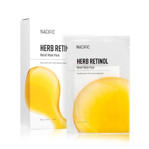 NACIFIC Herb Retinol Relief Mask Pack 10ea