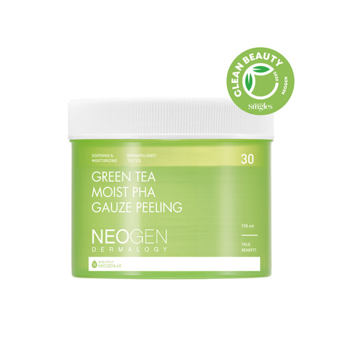 NEOGEN DERMALOGY Green Tea Moist Pha Gauze Peeling 30ea