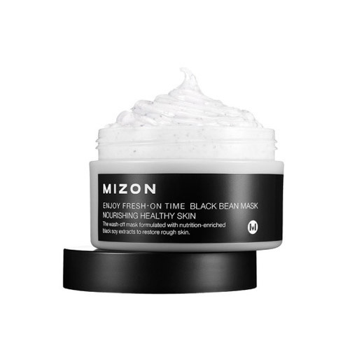 MIZON Enjoy Fresh-On Time Black Bean Mask 100ml