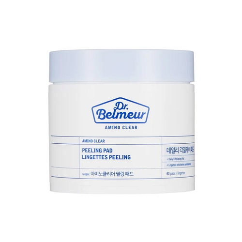 THE FACE SHOP Dr.Belmeur Amino Clear Peeling Pad 60ea