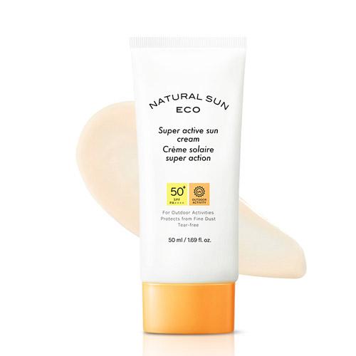 THE FACE SHOP Natural Sun Eco Super Active Sun Cream SPF50+ PA++++ 50ml
