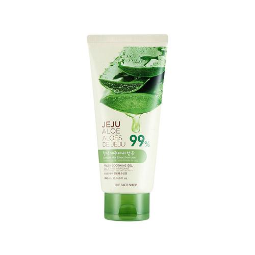 THE FACE SHOP Jeju Aloe Fresh Soothing Gel (Tube) 300ml