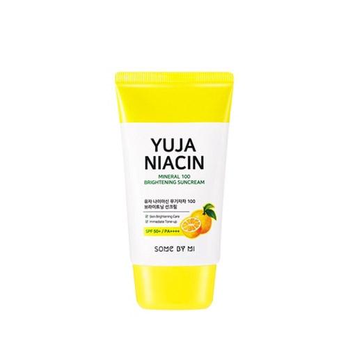 SOME BY MI Yuja Niacin Mineral 100 Brightening Sun Cream SPF50+ PA++++ 50ml