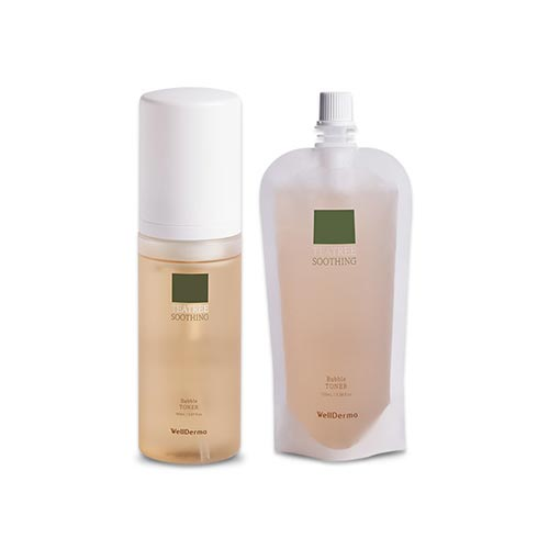 WellDerma CHADEW TEATREE SOOTHING BUBBLE TONER 150ml + 100ml
