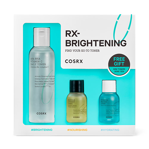 COSRX Find Your Go to Toner RX Brightening Kit