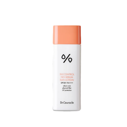 [TIME DEAL] Dr.Ceuracle 5α Control No-Sebum Sun Lotion SPF50+ PA++++ 50ml