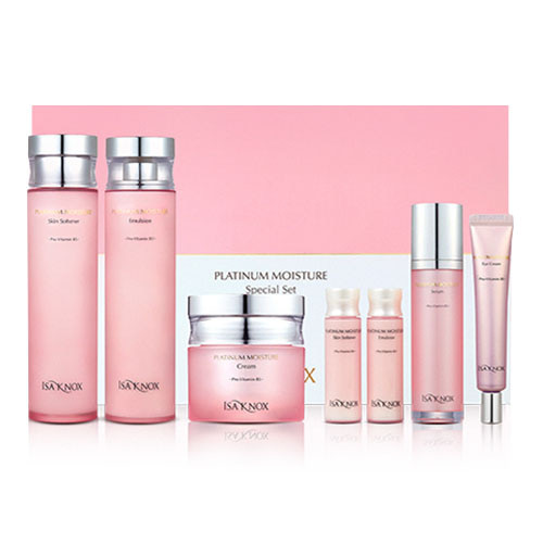 ISAKNOX Platinum Moisture 3 Types Planning Set