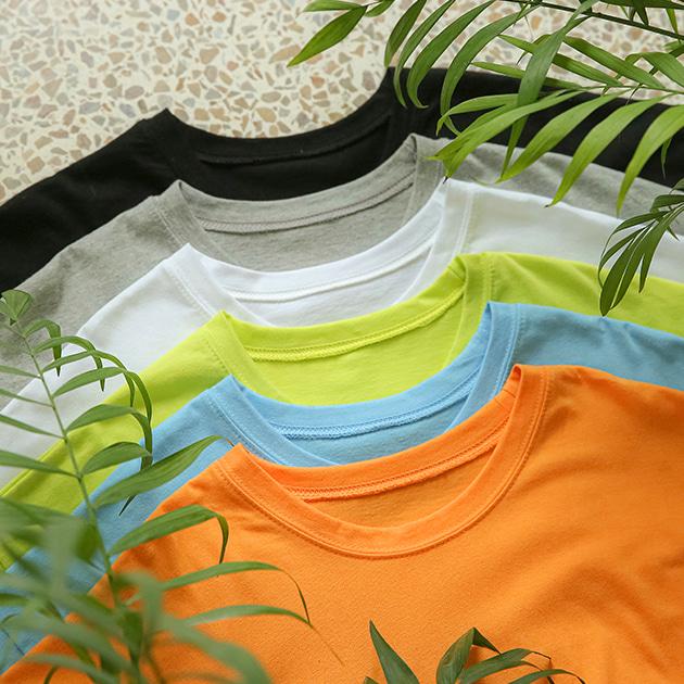 팔레트컬러 박스 티셔츠 TS5130 ONLY BLUEPOPS