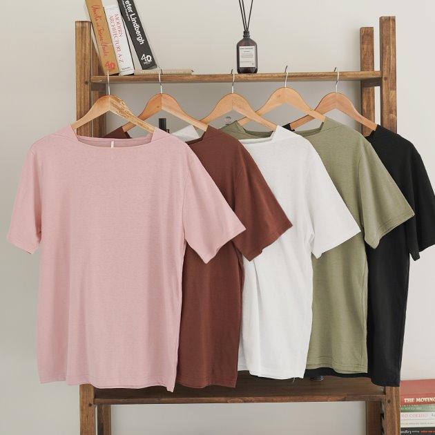 라떼 스퀘어 티셔츠 TS7257
