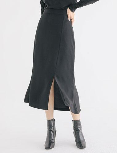 スリットマーメイドスカート