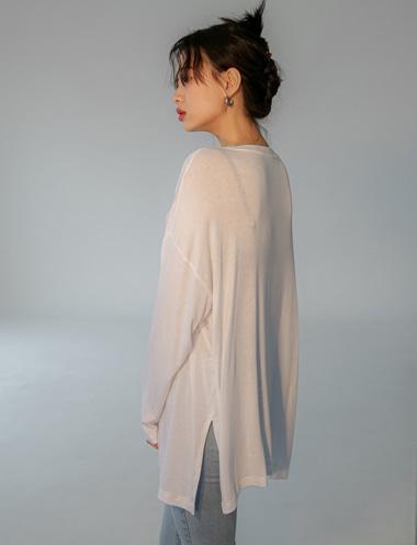 멜리아 라운딩 티셔츠TS5138