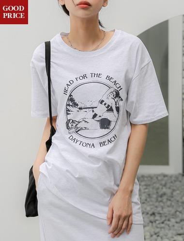스투랩 빅프론트 티셔츠TS5257