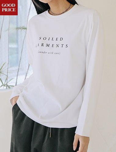 아몬디드 기모 티셔츠 TS5414
