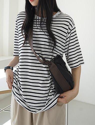 쥬시쿨 스트라이프 티셔츠 TS7231