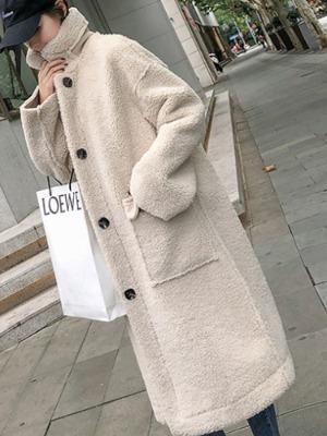 사이먼 양털 코트