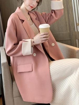 로디체 배색 자켓
