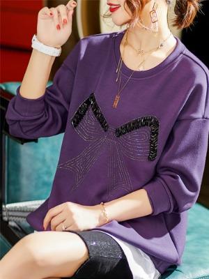 여자 맨투맨 티셔츠  여자 스팽글 티셔츠