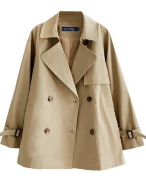 숏 트렌치 코트