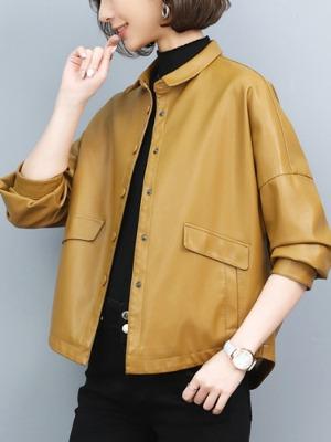 귀여운카라 램스킨 양가죽 간절기 라이더 결사곡2 박주미 옷 패션 st 자켓