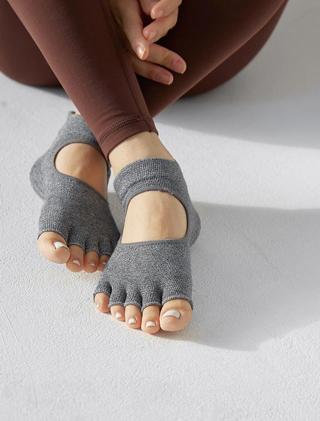 Open Top Toe Socks