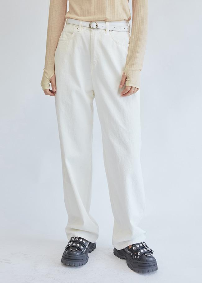 Wide Leg Cotton Pants