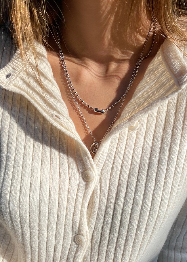Ball Link Chain Necklace