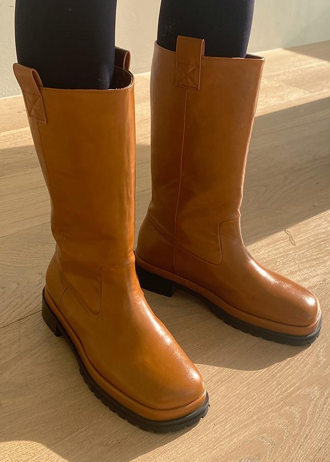 Platform Midi Boots