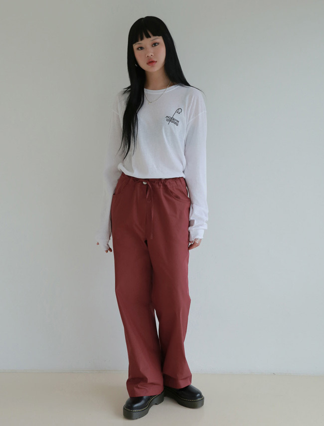 Cotton Loose Fit Pants