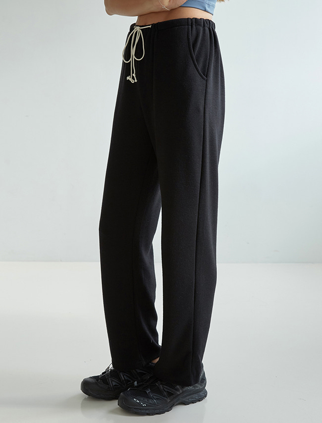 Black Drawstring Training Pants