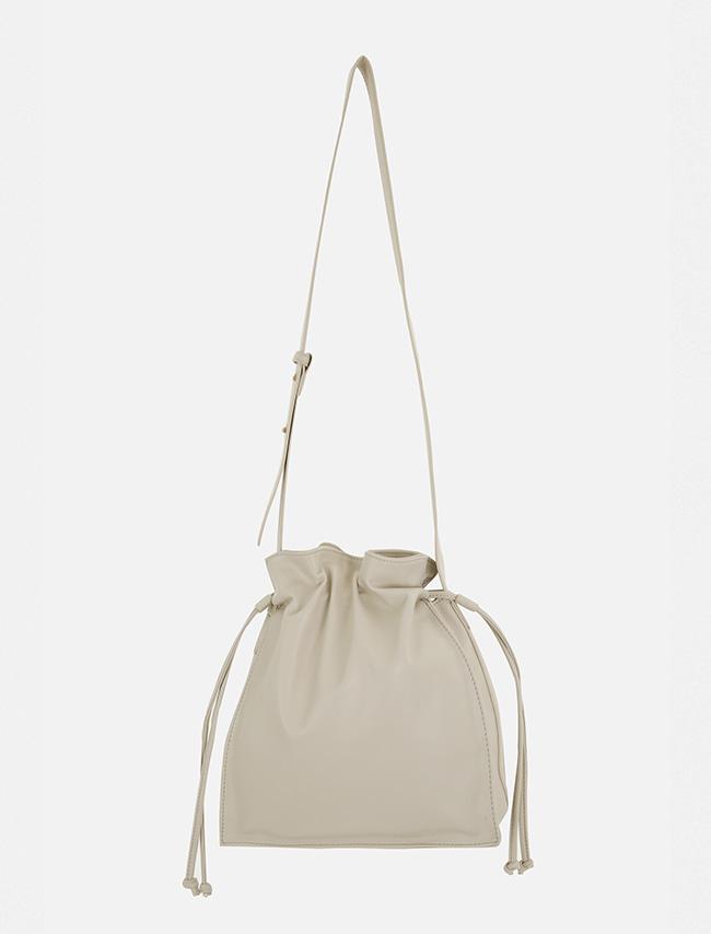 Snap Long Strap Bucket Bag