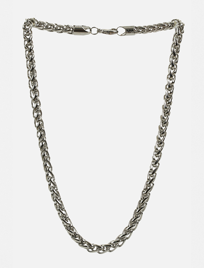Basic Metallic Chain Link Necklace