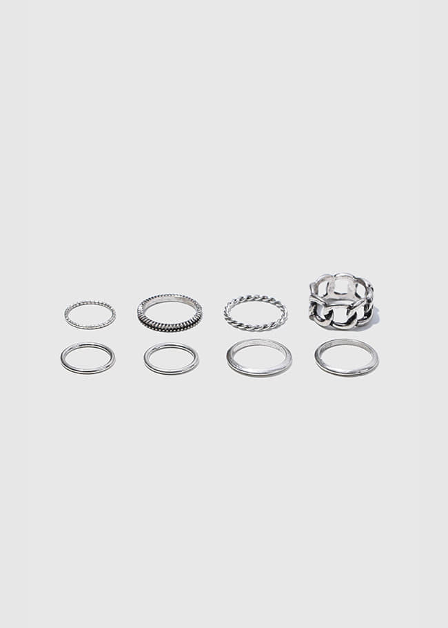 6 Design Ring Set